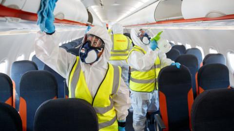 БАЛКАНСКИ КОВИД-19 ВО ФИНСКА: Авион од Скопје слетал со 24 заразени од 157 патници