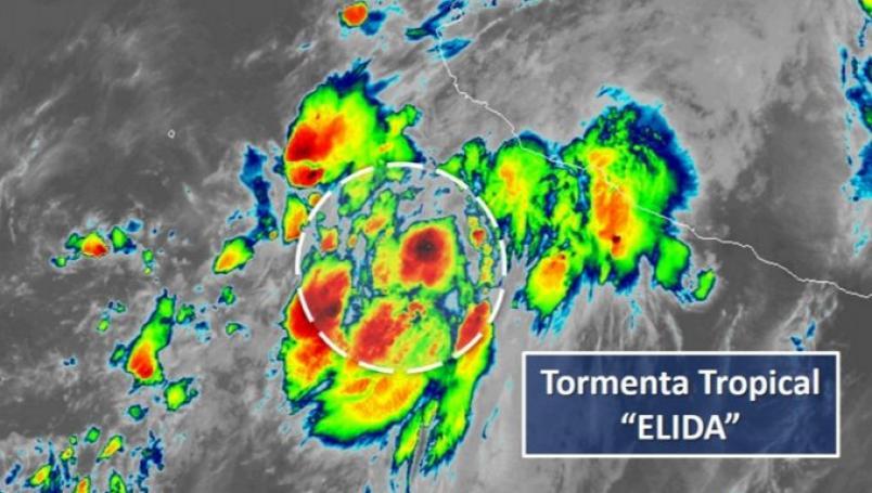 Мексико: Бурата Елида станува ураган
