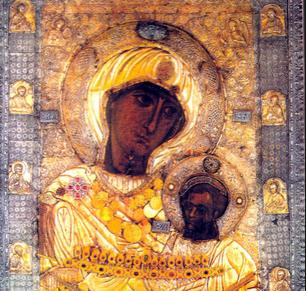 Копија од чудотворната икона Пресвета Богородица Вратарница – Иверска во Кочани