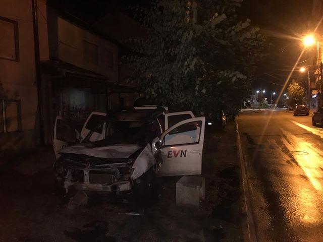Тетово: Приведен 43-годишниот К.О. поради синоќешното палење на двете возила на ЕВН