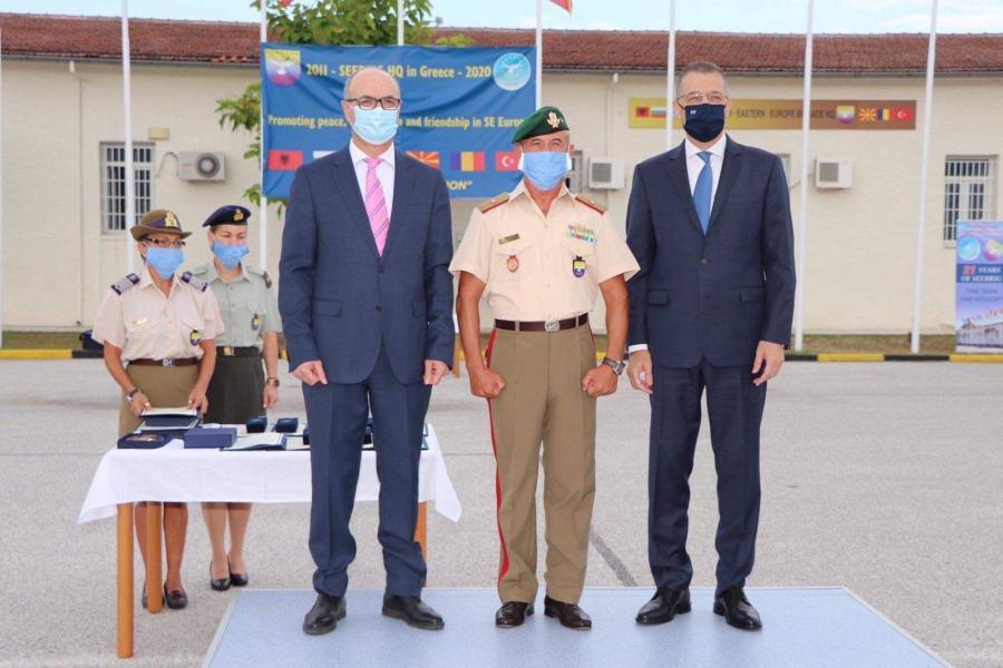 ПРЕСЕЛБА НА ШТАБОТ: Командата на Бригадата на ЈИ Европа од Лариса се сели во Куманово