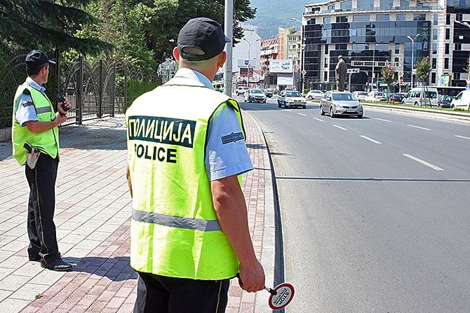 Скопје: Вчера казнети 374 возачи, 92 за брзо возење и 27 мотоциклисти