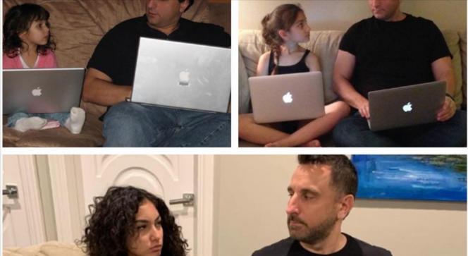 Татко се фотографирал со својата ќерка во 2007, 2014 година и 2019 година, а луѓето забележаа еден детаљ