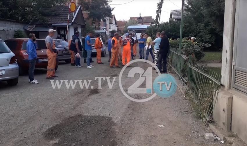 Протест во Тетово – над 300 работници на ЈКП, шест месеци без платени придонеси