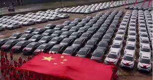 Кина: Раст од 72,8 отсто на продажбата на автомобили