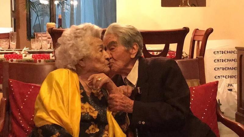 НАЈСТАР БРАК ВО СВЕТОТ: По 79 години смртта на 110-годишниот Хулио ги раздели со 104-годишната Валдрамина