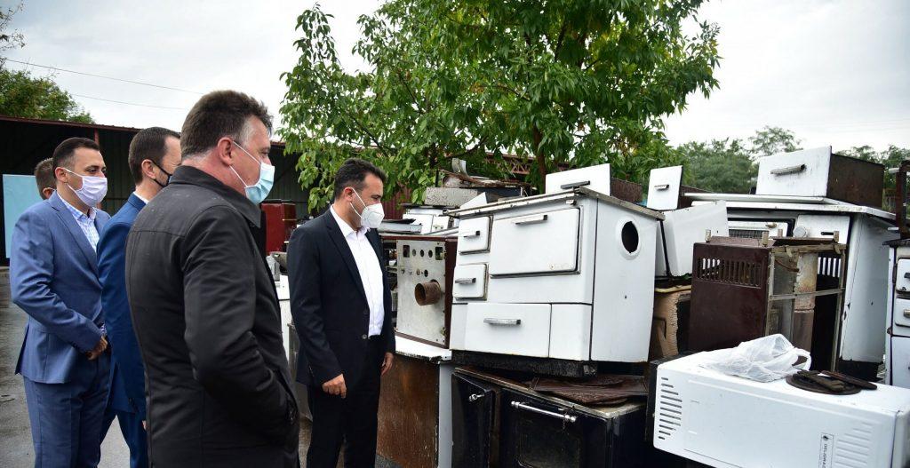 ГРАД СКОПЈЕ: Крај на замената на печки и шпорети на дрва за Шилегови инвертери