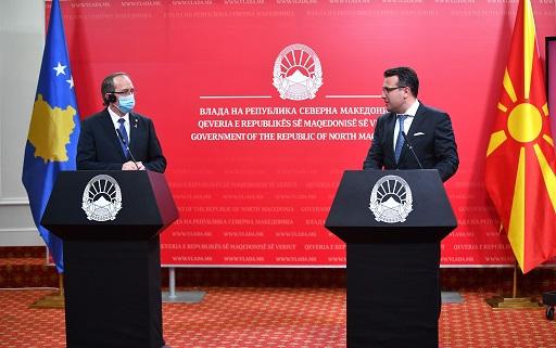 ЗАЕВ-ХОТИ: Меѓувладината седница ќе даде позитивен импулс во односите меѓу двете држави