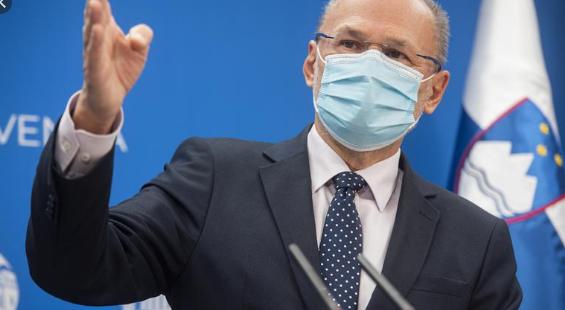 Кацин: Во Словенија до крајот на јуни ќе биде вакцинирано половина население