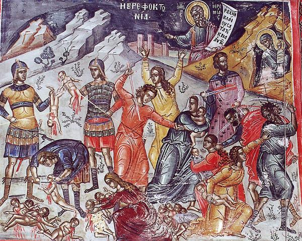 СВ. 14.000 МЛАДЕНЦИ ВО ВИТЛЕЕМ: Некои ги убија со меч, други ги гмечеа, трети ги задавија и се крена плач и лелек на мајките до небесата