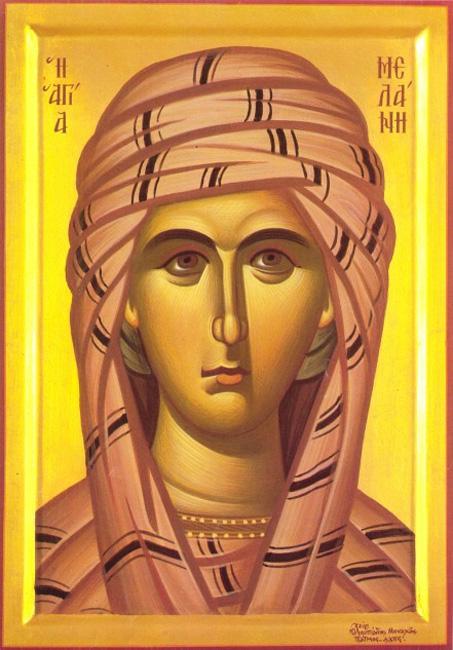 КАЛЕНДАР НА МПЦ: Денеска е Преподобна Меланија Римјанка