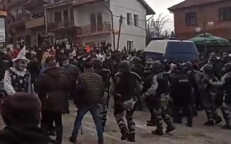 МВР: Против лицето што го запали бугарското знаме во Вевчани ќе поднесеме кривична пријава за дело за кое е предвиден затвор до 5 години