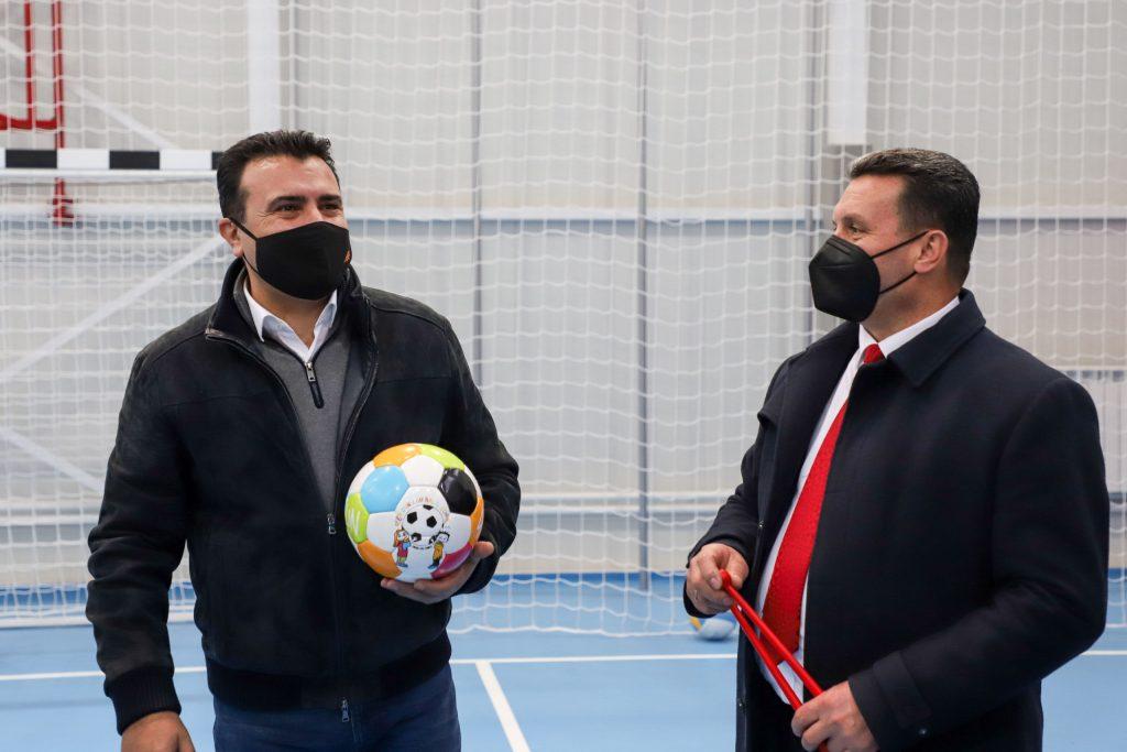 ЗАЕВ: Учениците од Хиподром нема веќе да спортуваат во холот туку во спортска сала