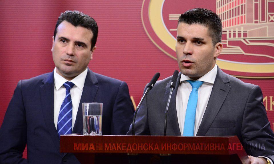 СДСМ: Вицепремиерот Николовски е борец против криминалот и корупцијата во нашава земја