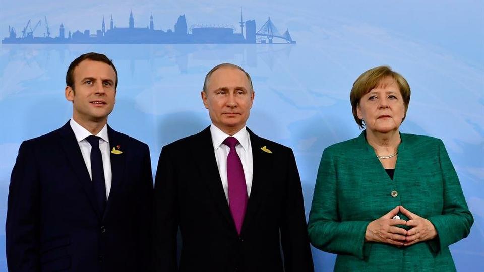 Меркел: Нема согласност во ЕУ за прашањето за можна средба со Путин