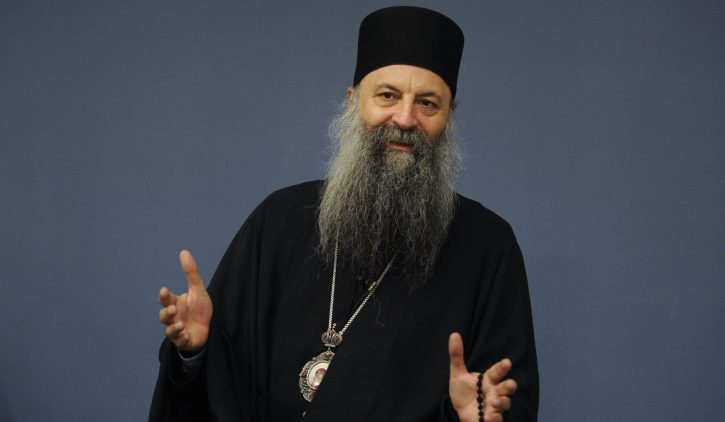 ПОРФИРИЈ: Суштински ми е важно да се надмине расколот со Македонската црква