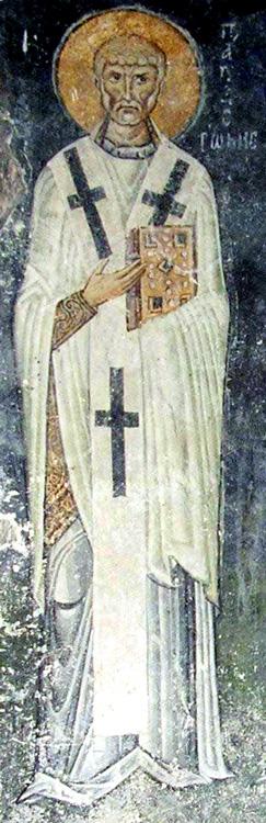 СВ. ЛАВ ПАПА РИМСКИ: Светите апостоли Петар и Павле стоеја покрај Лав и со пламени сабји му се закануваа на Атила