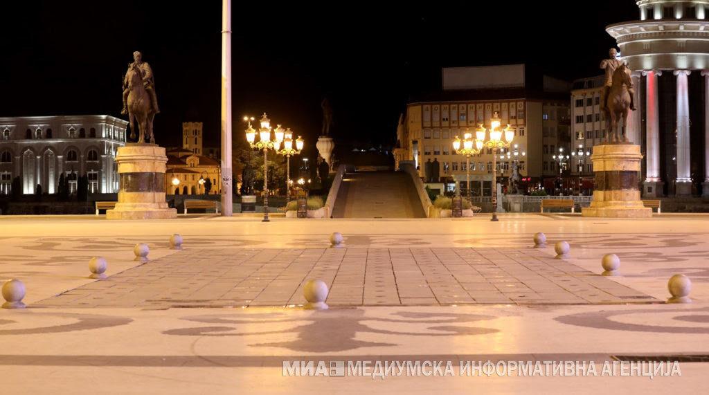 ВЛАДАТА ДЕНЕСКА ОДЛУЧУВА: Македонија две недели со полицискиот час од 22 до 5 наутро
