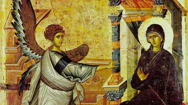 КАЛЕНДАР НА МПЦ: Денеска е Благовештение, празник на кој се слави веста за повторното единство на Бога и човекот