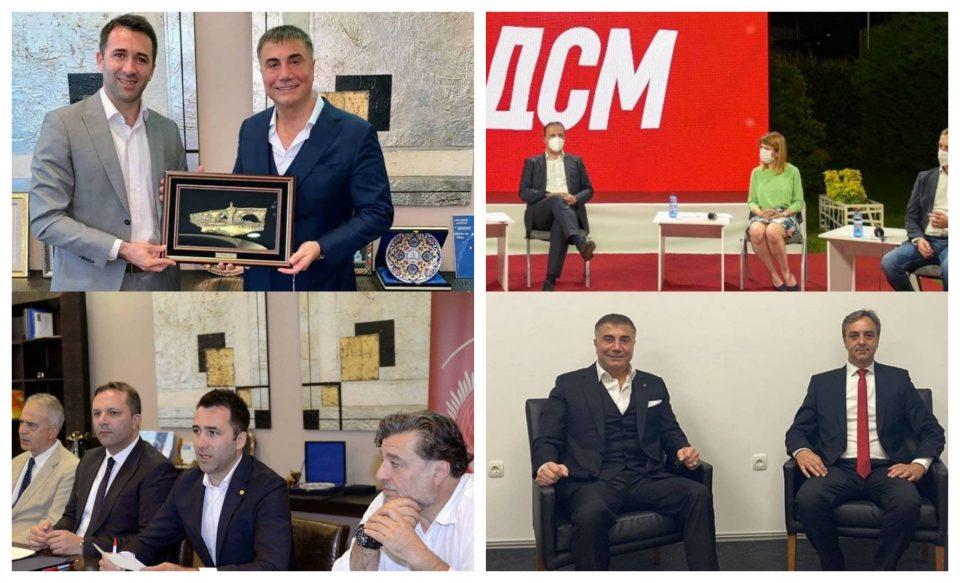 МОЛК ОД ВЛАДАТА: Заев молчи и не одговора дали Седат Пекер имал средби и дали е разговарано за бизниси поврзани со Вице Заев?