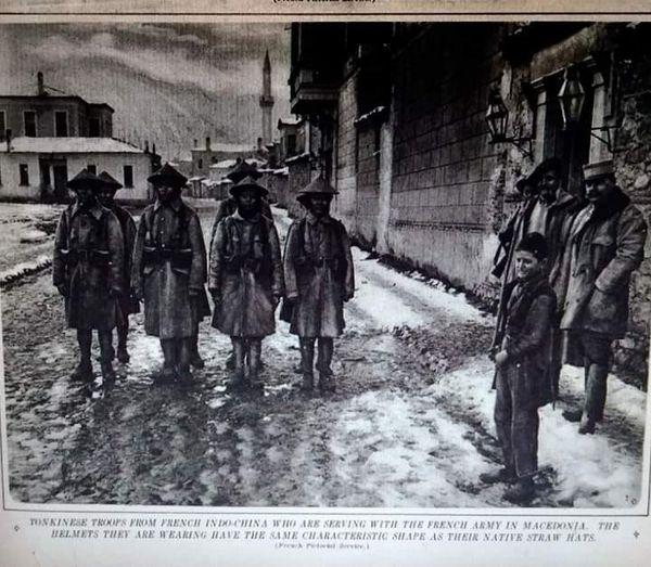 (ФОТО) И Кинези од Индокина војувале во Македонија