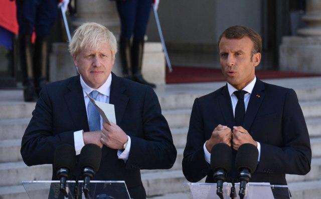 ФУДБАЛ И ПОЛИТИКА: Макрон и Џонсон се против формирањето на Супер лигата