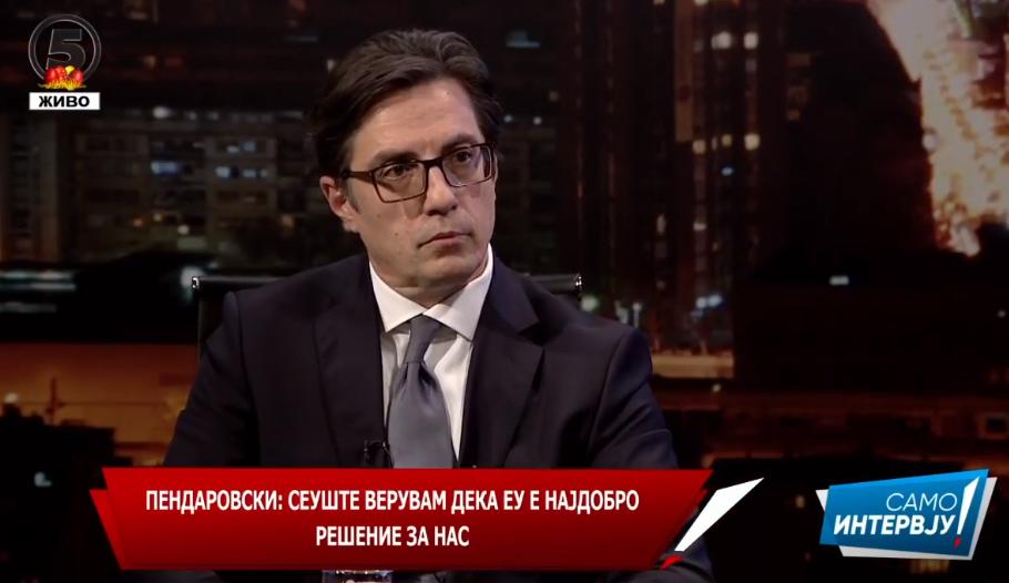 ПЕНДАРОВСКИ: Брисел добро го прими случајот Рашковски, тој покажува дека оваа Влада не се однесува како владите на Груевски!