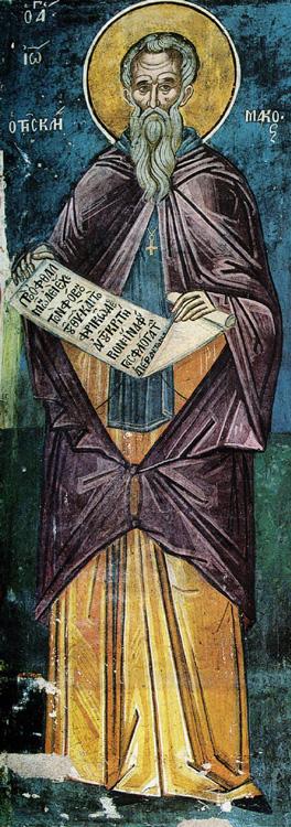 ПРЕП. ЈОВАН ЛЕСТВИЧНИК: Со телото се вознесе на Синајската Гора, а со духот на Гората Небесна