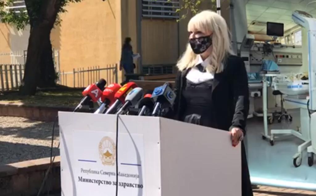 СОФИЈАНОВА: На Детската клиника во Скопје се лекуваат 15 деца позитивни на коронавирусот
