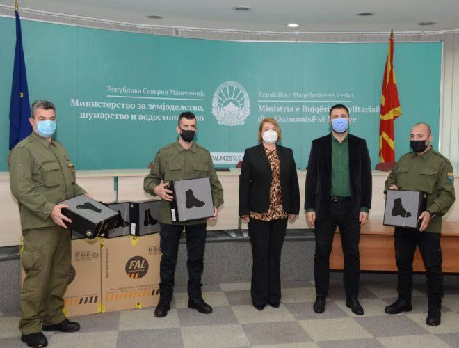 Шумска полиција: Денеска ни стигнаа новите зимски униформи, заедно со летните