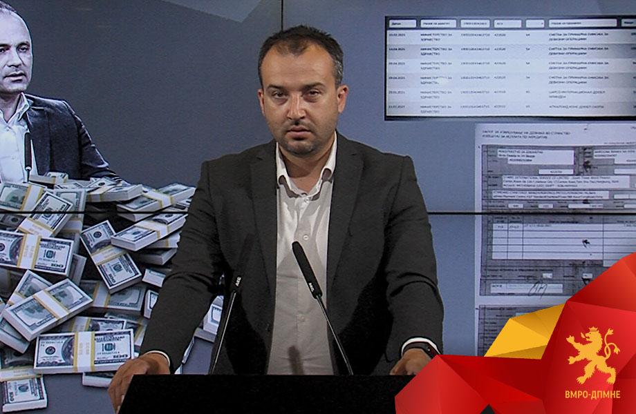 ЛЕФКОВ: Филипче и Заев уплатиле 7,8 милиони долари на фантом фирмата од Хонг Конг, сега да одговорат каде требало да заврши разликата