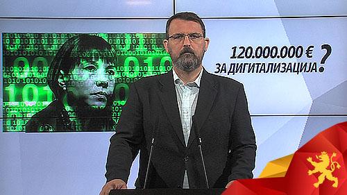 СТОИЛКОВСКИ: Дигитализацијата на Царовска што се турка насилно ќе чини 120 милиони евра?