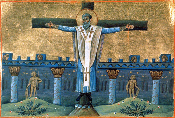 СВ. АПОСТОЛ СИМЕОН: Претрпе големи маки и најпосле го распнаа на крст, како неговиот Господ кому верно му послужи на земјата