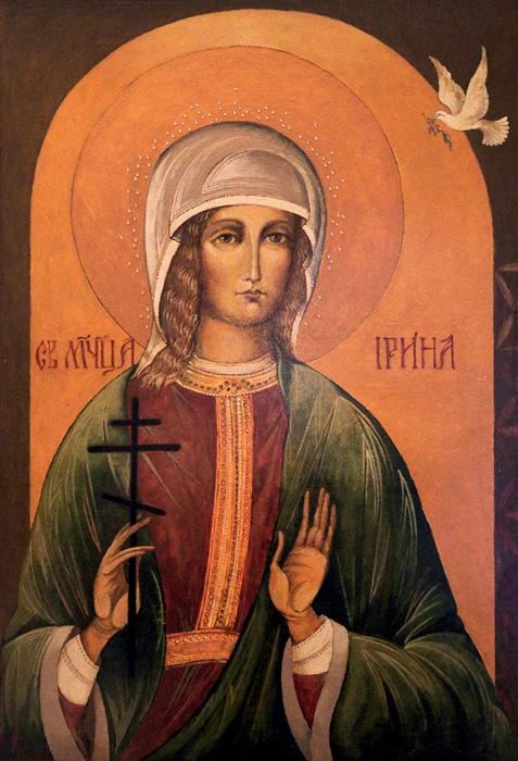 СВ. ВЕЛИКОМАЧЕНИЧКА ИРИНА: Кога по четири дена го отворија гробот, неа ја немаше внатре
