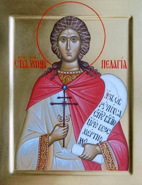 СВ. ПЕЛАГИЈА: Црква е изградена на местото каде што девицата се жртвувала за верата во Христа