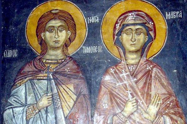 СВ. ТИМОТЕЈ И МАВРА: Набргу по венчавката беа изведени на суд заради верата во Исус Христос