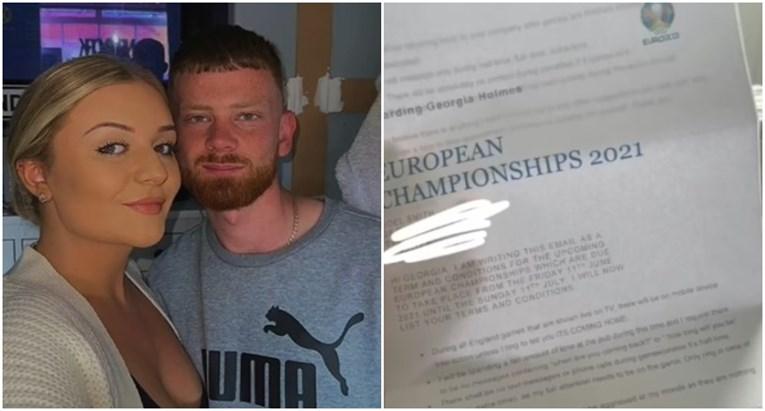 """Во месецот на фудбалот: Британец ѝ понудил """"претфудбалски договор"""" на девојката"""
