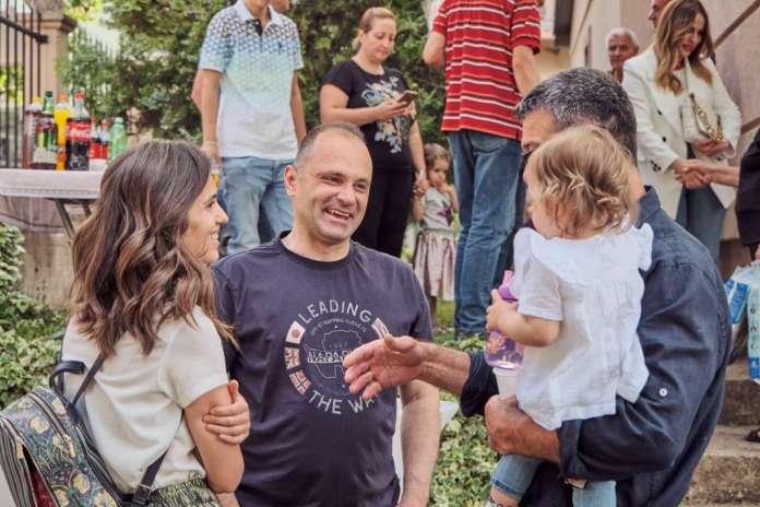 Филипче на роденден на Лара, ќерката на починатата Јасмина Василковска, со чии органи беа спасени три животи