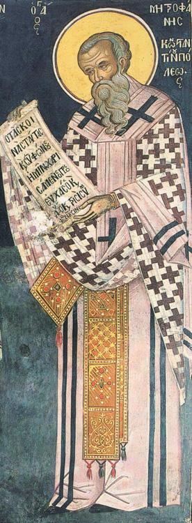 СВ. МИТРОФАН: Неговиот татко беше брат на римскиот цар Пров, но побегна од Рим како христијанин и дојде во Византија