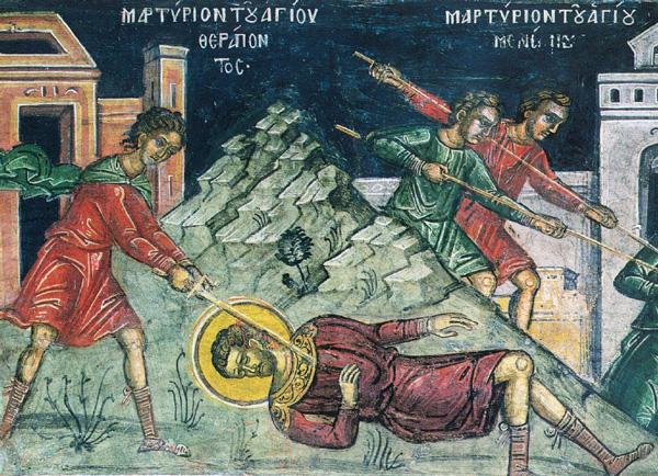СВ. ТЕРАПОНТ: Многу Елини ги обрати во верата Христова, заради што беше мачен со глад в затвор