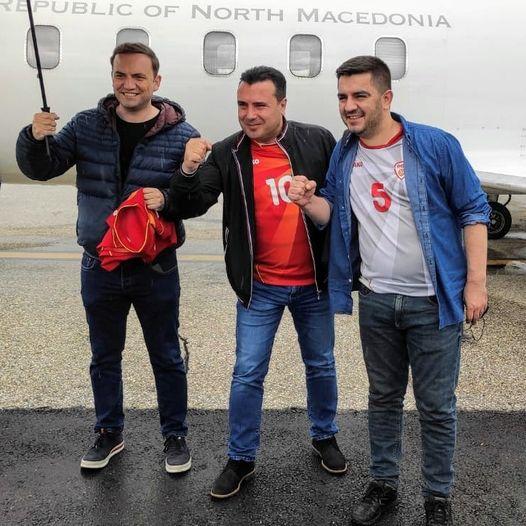 Заев, Османи и Бектеши во Букурешт со државниот авион!