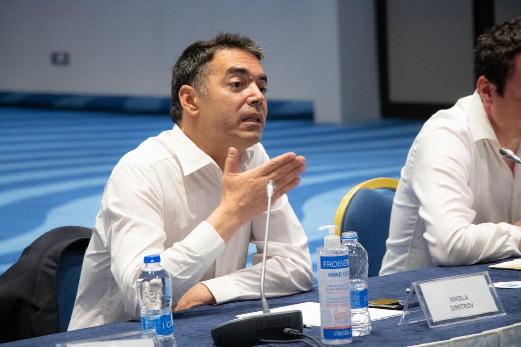 ДИМИТРОВ: Искачивме планина на нашиот пат кон ЕУ со нашето решавање на проблемот со Грција