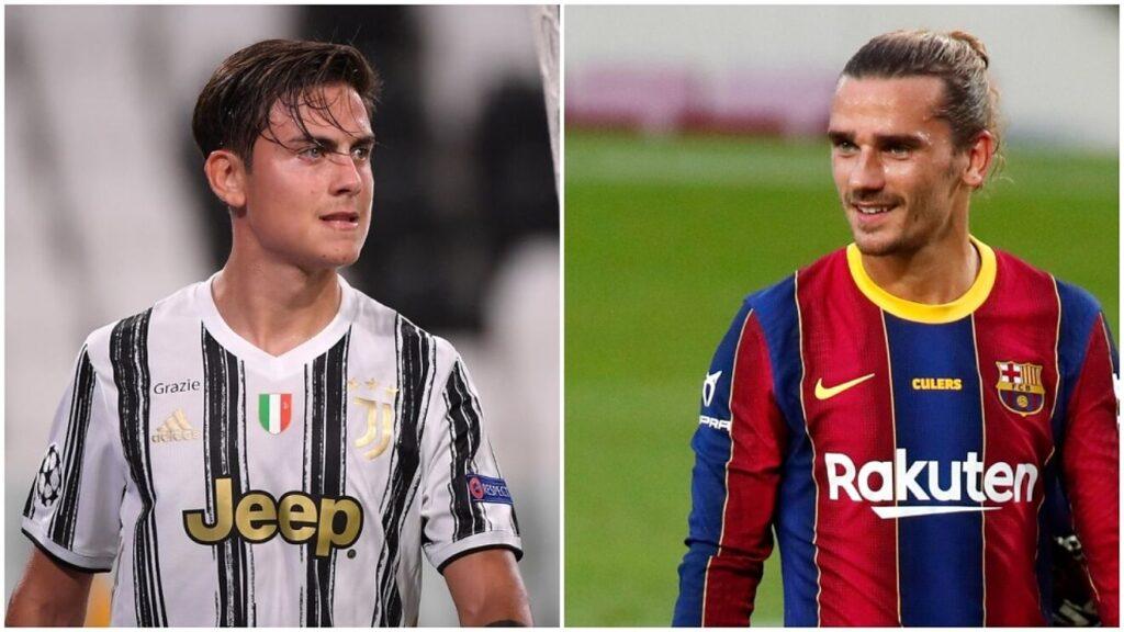 Барселона преговара со Јувентус за размена Гризман – Дибала
