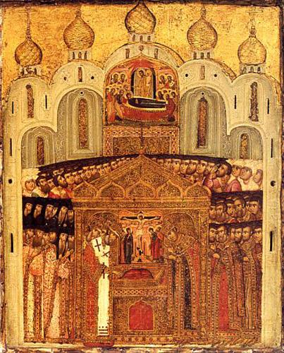 ВО УСПЕНСКИОТ СОБОР: Денеска е Пренос на чесната риза на Господ Исус Христос во Москва