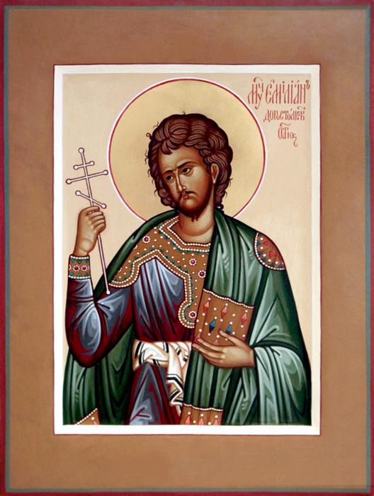 СВ. ЕМИЛИЈАН: Бог и мојата душа ми заповедаа да ги урнам мртвите столбови што ги нарекувате богови