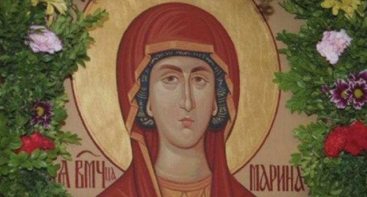 НАРОДНИ ВЕРУВАЊА ЗА СВ. МАРИНА: Огнена Марија го донесла дождот и подарила богат род