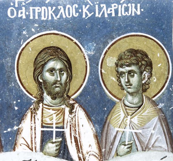 СВ. МАЧЕНИЦИ ПРОКЛО И ИЛАРИЈ: Христос ми е род и надеж и Бог