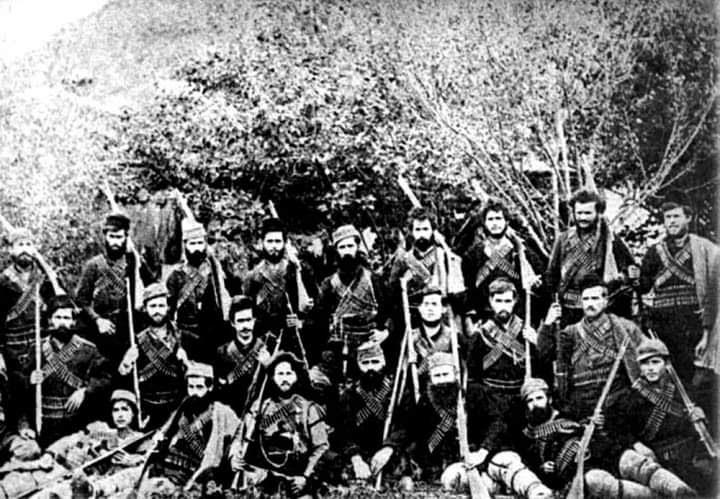 ГОТЕНСКО МУАРАБЕ: Чествување на битката на Готен со седум огнени круга, ред комитски ред аскерски