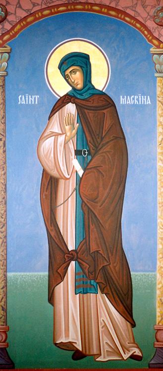 ПРЕПОДОБНА МАКРИНА: Најстарата сeстра на св. Василиј Вeлики и на св. Григoриј Ниски, по смртта на свршеникот, се завети во Бога