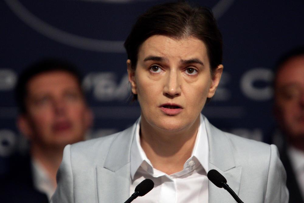 Брнабиќ: Немам ништо добро да кажам за однесувањето на ЕУ по прашањето за Косово
